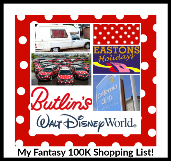 My Fantasy 100K Shopping List!
