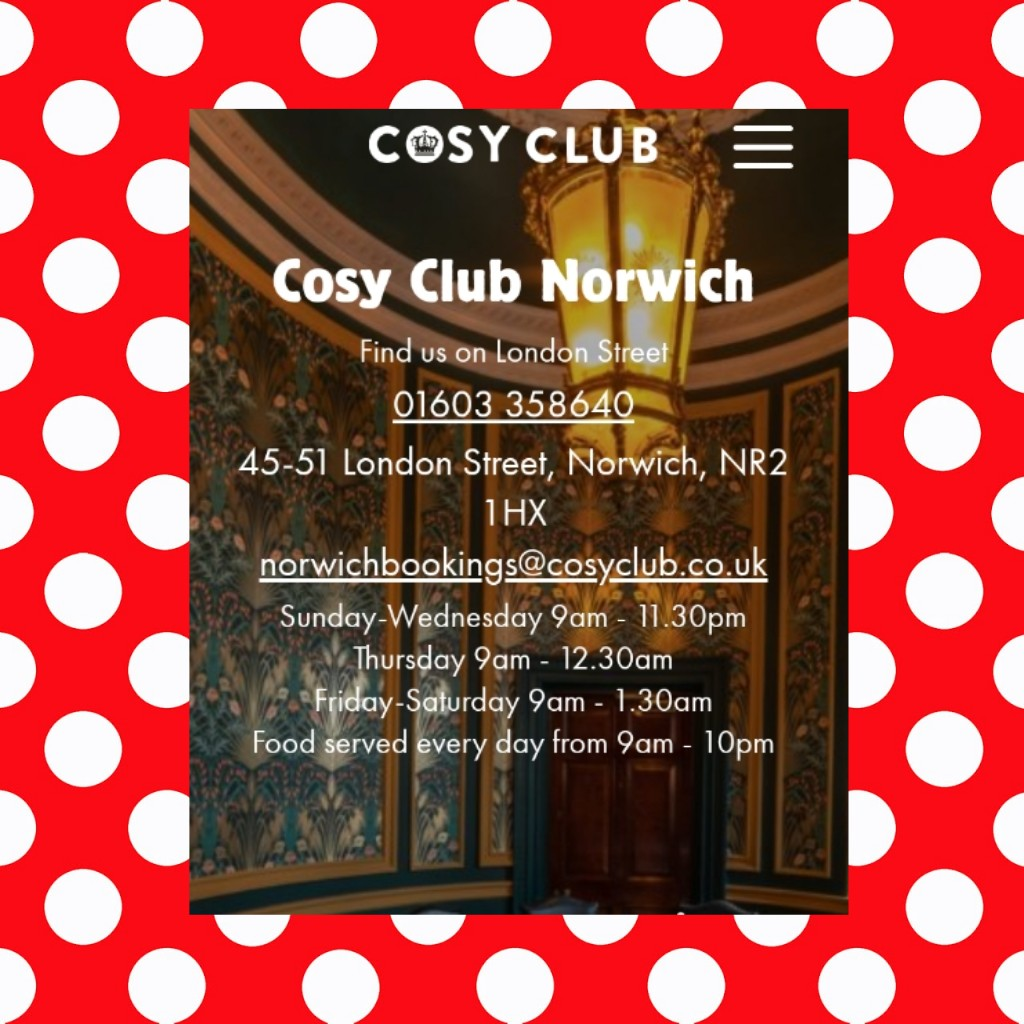 The Cosy Club Norwich Restaurant