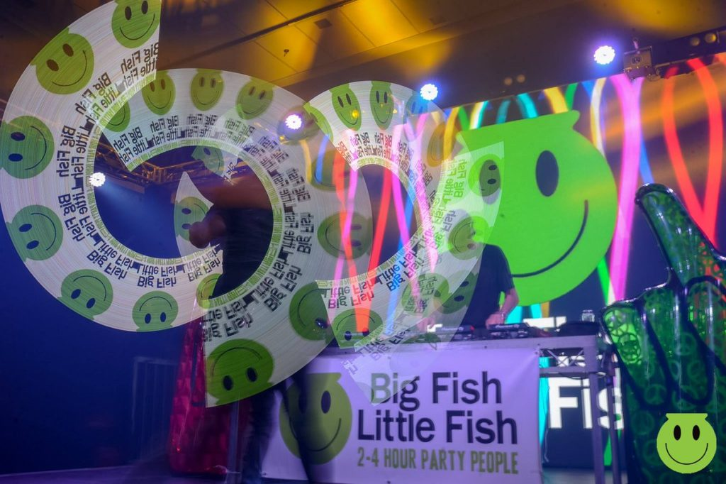 Big Fish Little Fish Family Rave