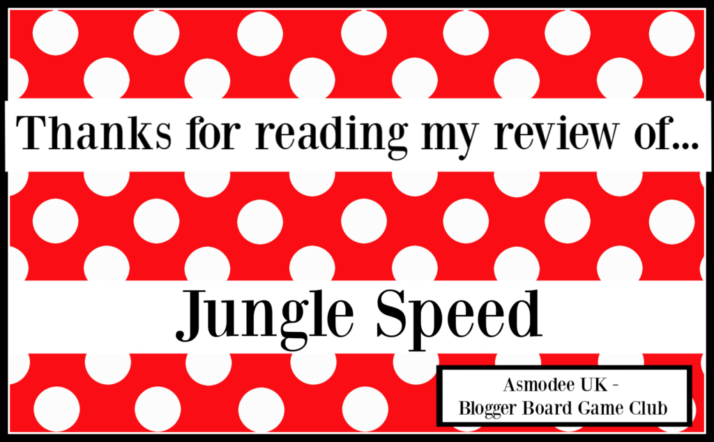 Jungle Speed review