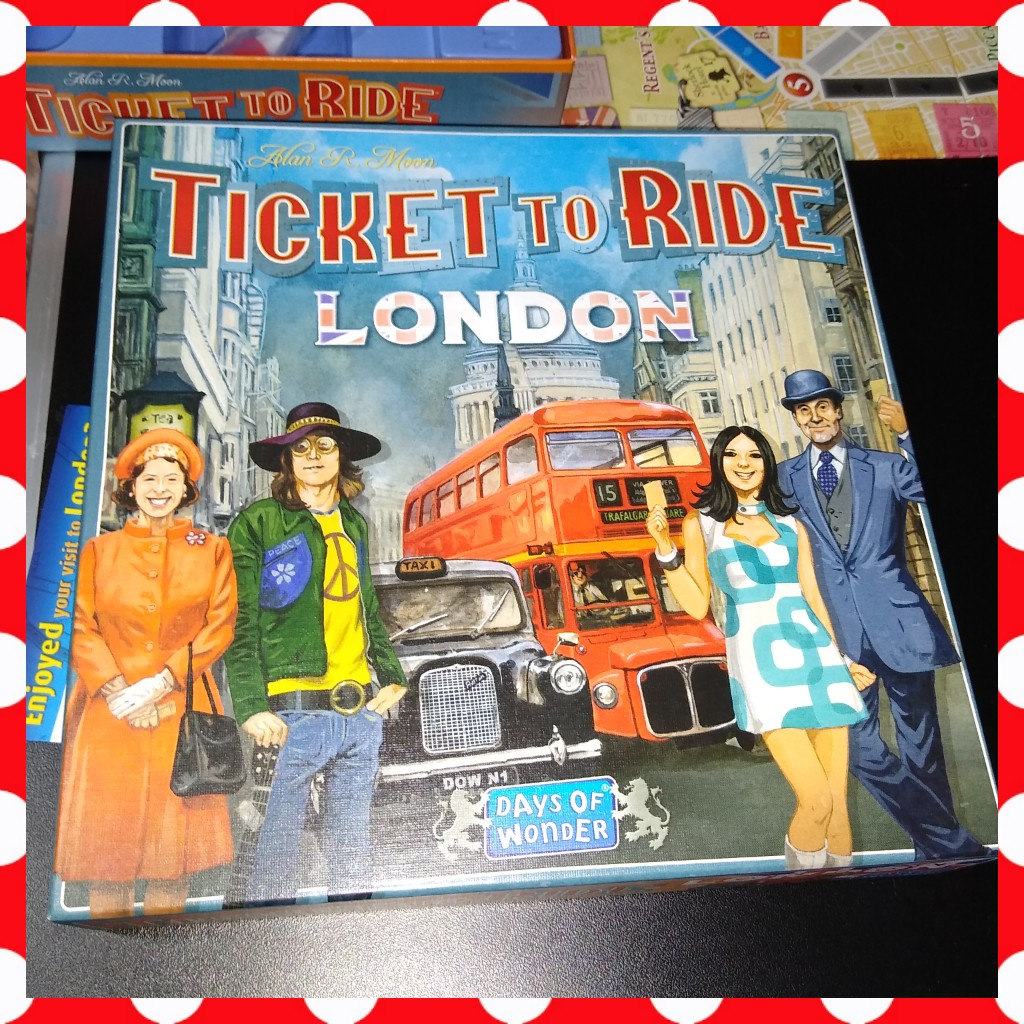 Ticket to Ride London board game review