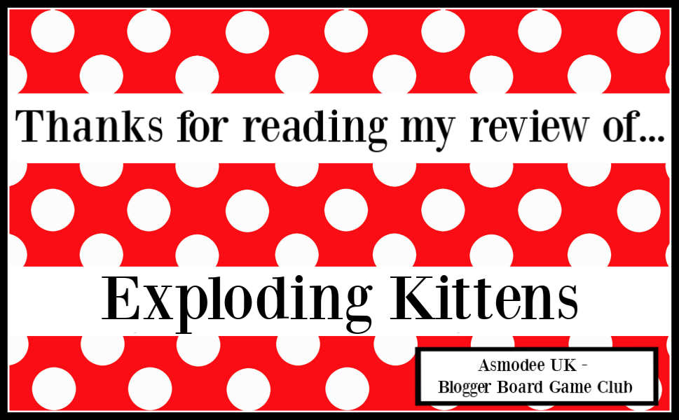 Exploding Kittens Card Game review